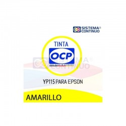 Tinta OCP YP115 Amarillo para Epson