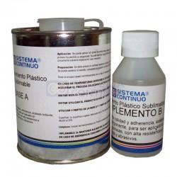 Polimero 2 Componentes para Sublimar Materiales Duros x 600C