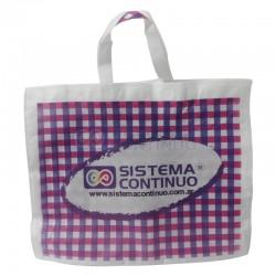 Bolsa de Friselina 45x55 con manijas X 5 Unidades