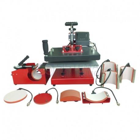 Estampadora 8 en 1 Modelo M2 Para Sublimacion