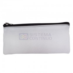 Cartuchera Sublimable Cordura Blanca Pack x5