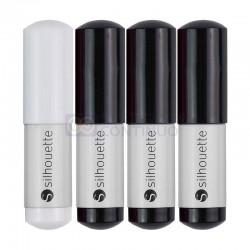 Plumas de Dibujo Silhouette Blanco/ Negro