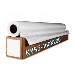 Rollo Papel Sublimacion Importado KY 55gr 160cm x 200mts