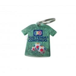 Llavero Plastico Camiseta Caja x20 Unidades
