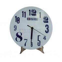 Reloj Redondo Sublimable De Madera Con Maquina