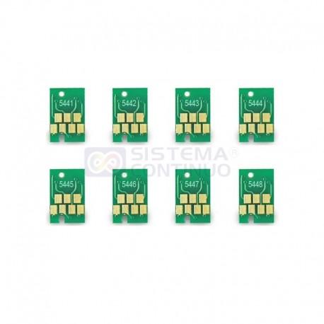 Chip Reseteable Para Plotter Epson 7600 9600 4000