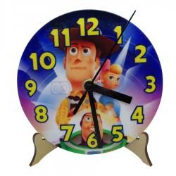 Reloj de Polímero Sublimable Redondo 13cm