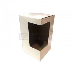 Caja de Carton Sublimable con Ventana para Jarro Termico