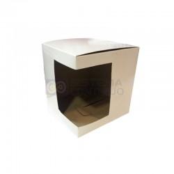 Caja de Carton Sublimable con Ventana para Tazas