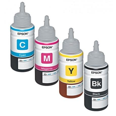 Kit de Tinta Original Epson Botella 70ML - Sin caja