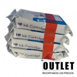 Juego de Cartuchos Original HP11 SIN CAJA