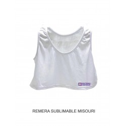 Remera Sublimable Misouri X 5 Unidades