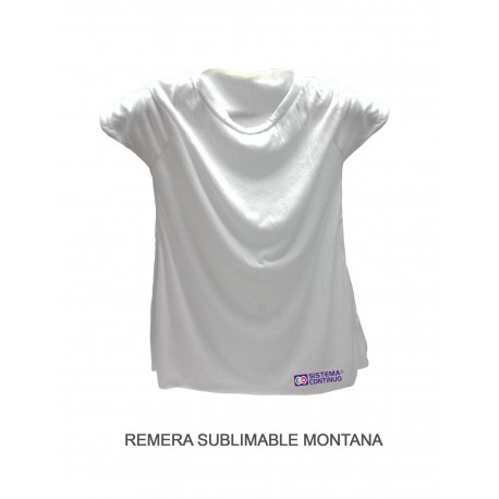 Remera Sublimable Montana