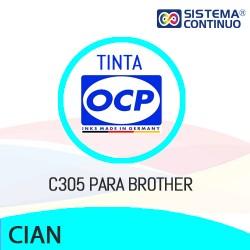Tinta OCP Dye Cian C305 para Brother
