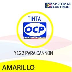 Tinta OCP Y122 Amarillo para Canon