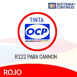 Tinta OCP R122 Rojo para Canon