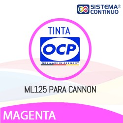 Tinta OCP ML125 Magenta Light para Canon