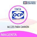 Tinta OCP ML125 Magenta Light para Canon