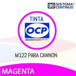 Tinta OCP M122 Magenta para Canon