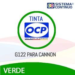 Tinta OCP G122 Verde para Canon