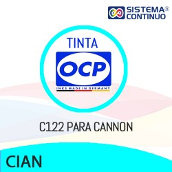 Tinta OCP C122 Cian para Canon