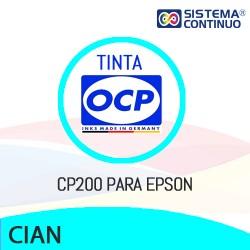 Tinta OCP Pigmentada CP200 Cian para Epson