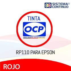 Tinta OCP Pigmentada RP110 Rojo para Epson