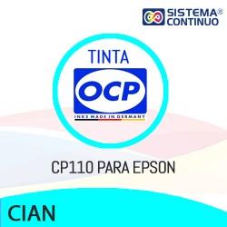 Tinta OCP Pigmentada CP110 Cian para Epson