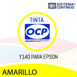 Tinta OCP Dye Y140 Amarillo para Epson