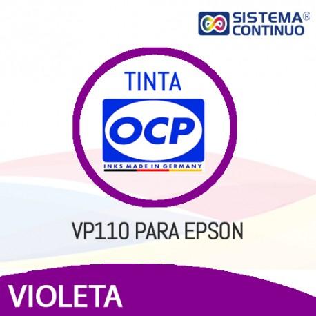 Tinta OCP Pigmentada VP110 Violeta para Epson
