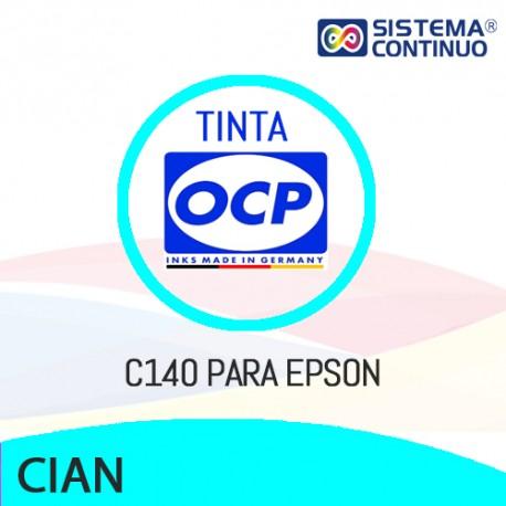 Tinta OCP C140 Cian