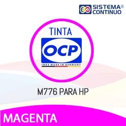 Tinta OCP Vivera M776 Magenta para HP