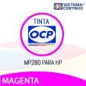 Tinta OCP Pigmentada MP280 Magenta para HP