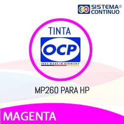 Tinta OCP Pigmentada MP260 Magenta para HP
