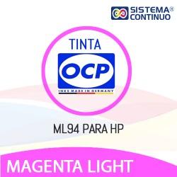 Tinta OCP Dye ML94 Magenta Light para HP