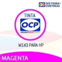 Tinta OCP M143 Magenta Para Hp