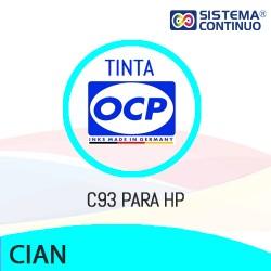 Tinta OCP Dye C93 Cian para HP