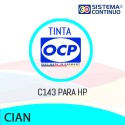 Tinta OCP C143 Cian para HP