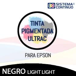 Tinta Pigmentada Ultrac Para Epson Negro light