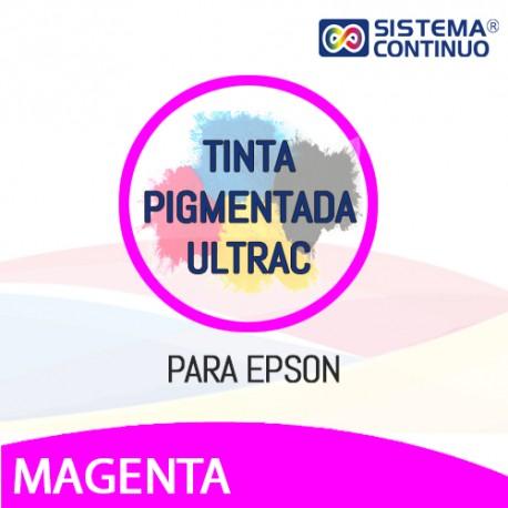 Tinta Pigmentada Ultrac Para Epson Magenta