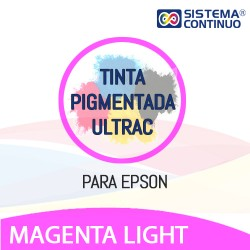Tinta Pigmentada Ultrac Para Epson Magenta Light