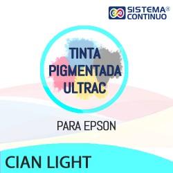 Tinta Pigmentada Ultrac Para Epson Cian Light