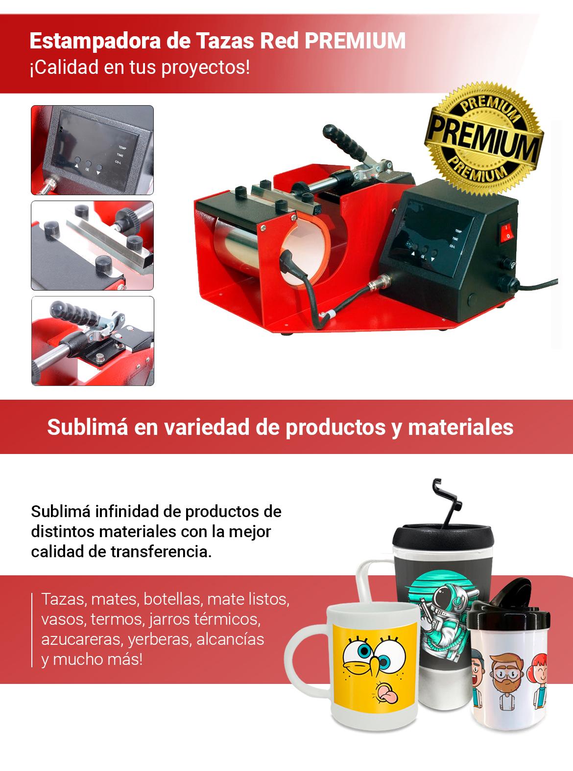 Estampadora y sublimadora senko red premium
